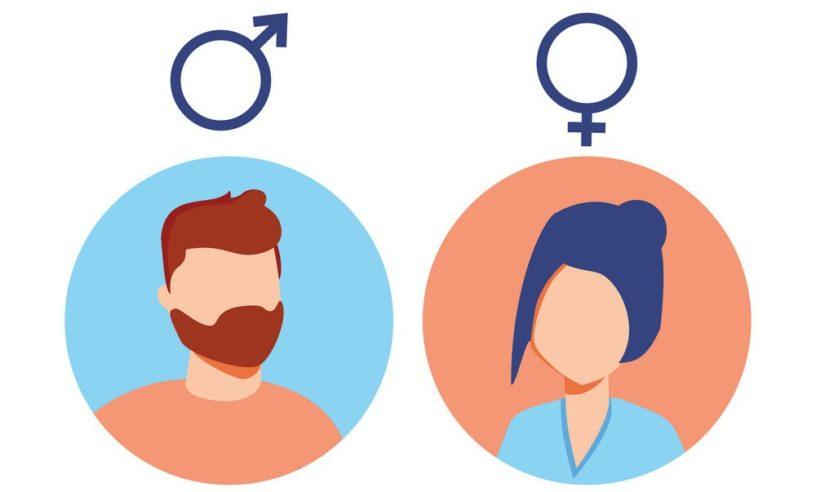 Аватар по-умолчанию с указанием пола